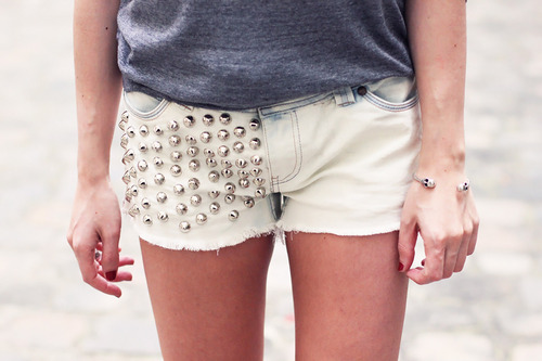 Девушки в шортах своими руками фото